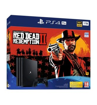 Red Dead Redemption II con PS4. Pack desde 347,12 euros